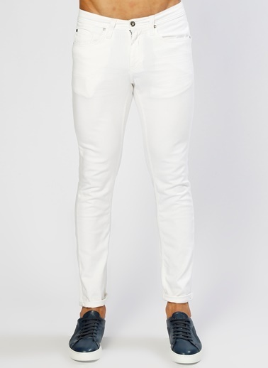 Mustang Klasik Pantolon Beyaz